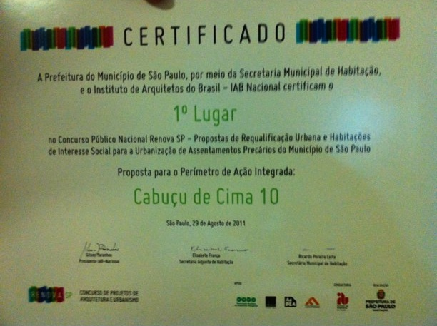 Certificado Renova SP